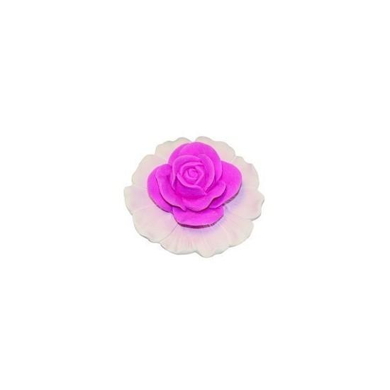 Rose en plâtre parfumée