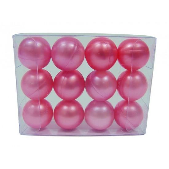 Lot 12 perles de bain à la rose