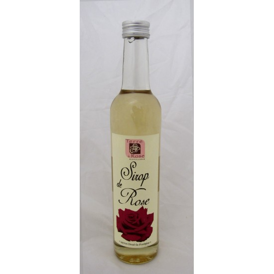 Sirop de rose naturel 50cl