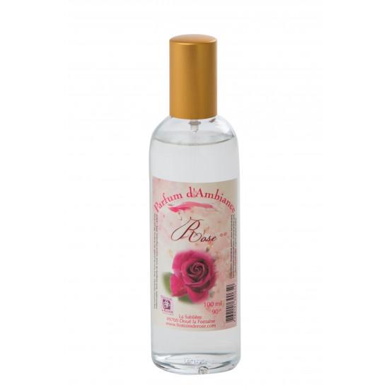 Parfum d'ambiance rose 100ml