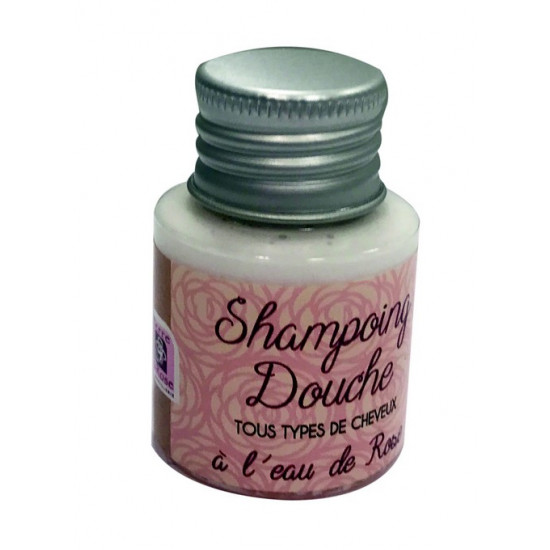 Shampooing douche rose 30ml