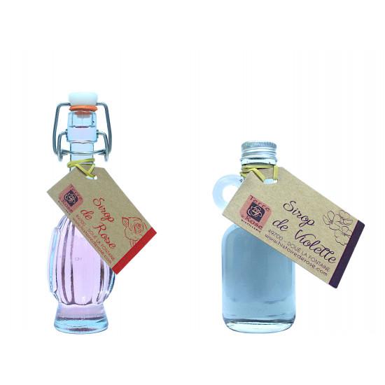Mignonette sirop rose ou violette  4cl