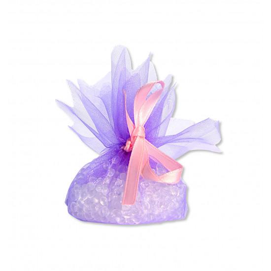Petit pochon parfumé à la violette