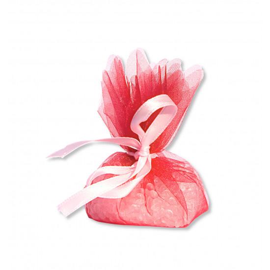Petit pochon parfumé à la rose